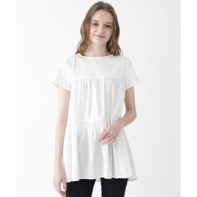 tシャツ Tシャツ フロートローンカットソー