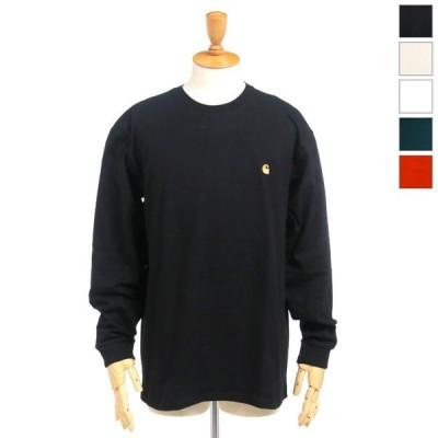 Carhartt WIP カーハート ワークインプログレス メンズ チェイス ワンポイント Cロゴ刺繍 ロングスリーブTシャツ ロンT L/S CHASE T-SHIRT I026392