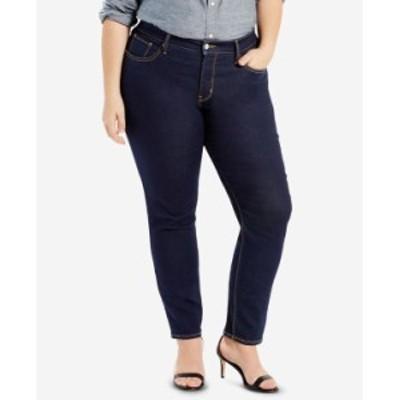 リーバイス レディース デニムパンツ ボトムス Plus Size 311 Shaping Skinny Jeans Darkest Sky - Waterless