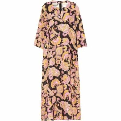 グッチ Gucci レディース ワンピース ワンピース・ドレス floral linen dress Floral