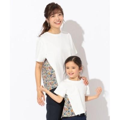 any FAM/エニィファム 【親子でお揃い】リバティプリントフレア Tシャツ アイボリー系5 2