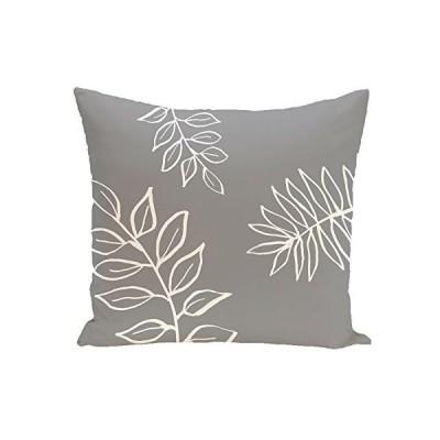 E by design Decorative Pillow, Gray, Off White