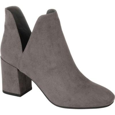 ジュルネ コレクション Journee Collection レディース ブーツ シューズ・靴 Comfort Foam(TM) Gwenn Bootie Grey