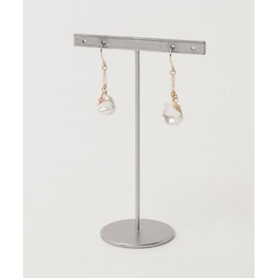 ピアス 【Serenite Jewelbox】Fresh water pearl earrings
