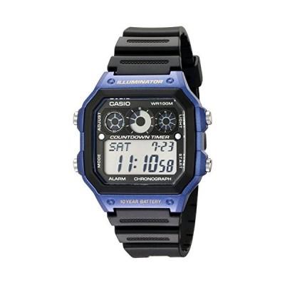 腕時計 カシオ メンズ AE-1300WH-2AV Casio Men's AE-1300WH-2AV Watch with Black Resin Band