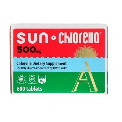 サンクロレラA、 500 mg、 600錠
