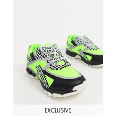 エイソス レディース スニーカー シューズ ASOS DESIGN x Christian Cowan chunky sneakers Multi