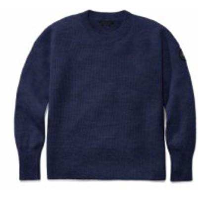 カナダグース CANADA GOOSE レディース ニット・セーター トップス Aleza Merino Wool Sweater Navy