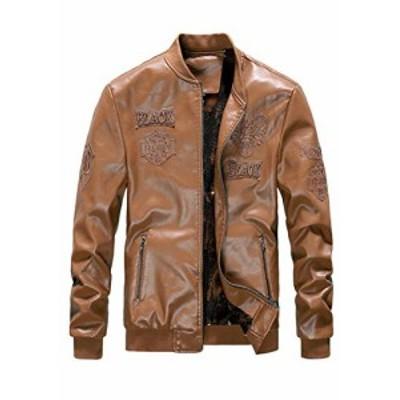 【新品・送料無料】BOFETA ジャケット ゆったり 多機能 裏起毛 アウターウェア シンプル カジュアル 合皮 ランニングウェア スウェット