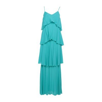 アンナリータ エンネ ANNARITA N ロングワンピース&ドレス ターコイズブルー 40 レーヨン 100% ロングワンピース&ドレス