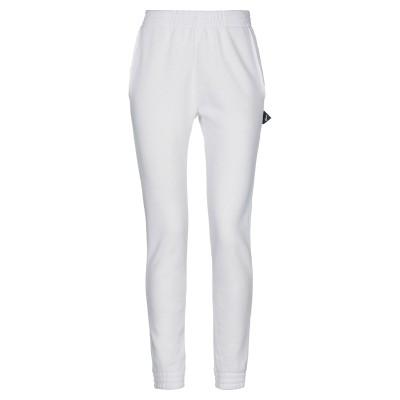 SHOESHINE パンツ ホワイト L コットン 85% / Lurex® 15% パンツ