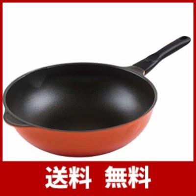 和平フレイズ フライパン 野菜炒め 中華料理 炒め鍋 カルビック 32cm BIGサイズ ガス火専用 チタンバリアコート RA-9691
