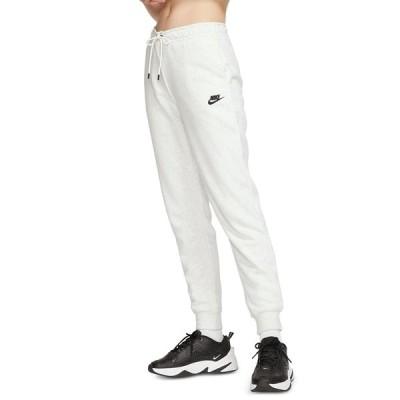 ナイキ カジュアルパンツ ボトムス レディース Women's Sportswear Essential Fleece Joggers Birch Heather/black