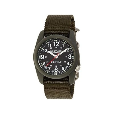 Bertucci Men's 11026 Analog Display Analog Quartz Green Watch