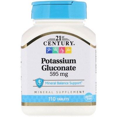グルコン酸カリウム, 595 mg, 110錠