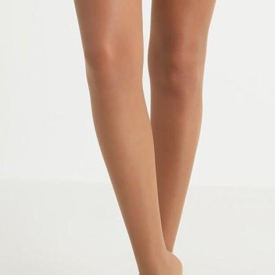 ファルケ レディース ファッション FALKE SEIDENGLATT 15 DENIER STAY UPS TRANSPARENT GLANZEND - Over-the-knee socks - powder