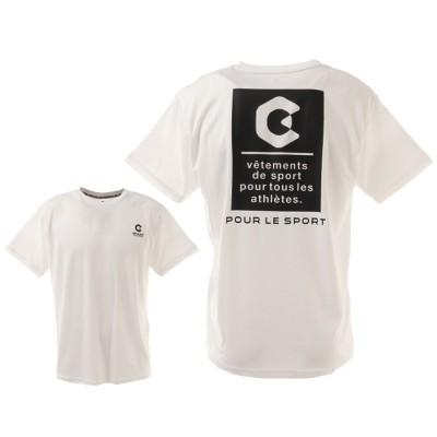 GIRAUDMウェア洗っても機能が続く UVカット 速乾 UV 吸汗速乾 半袖メッシュTシャツ 863GM1CD6667 WHTホワイト