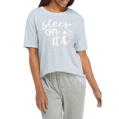 フィフスサン レディース シャツ トップス Short Sleeve Sleep On It Graphic Sleep Shirt