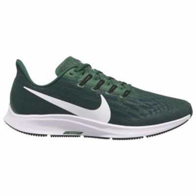 ナイキ メンズ ズームペガサス Nike Air Zoom Pegasus 36 ランニングシューズ Gorge Green/White/Fir/Black オリジナルBOX無し