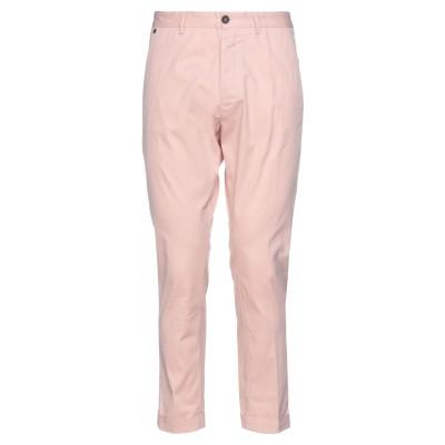メッサジェリエ MESSAGERIE パンツ ピンク 50 コットン 97% / ポリウレタン 3% パンツ