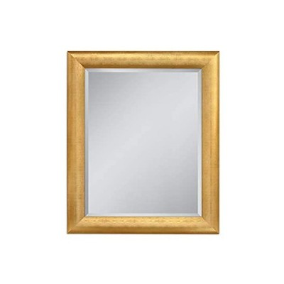 Head West Gold Pave Weave, 28 inches by 34 inches Wall Mirror