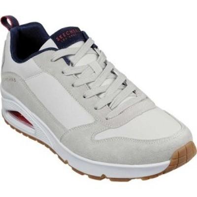 スケッチャーズ Skechers メンズ スニーカー シューズ・靴 Uno Stacre Sneaker Off White
