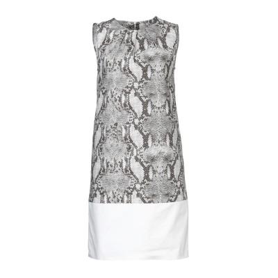 マニラ グレース MANILA GRACE ミニワンピース&ドレス グレー 38 コットン 100% ミニワンピース&ドレス