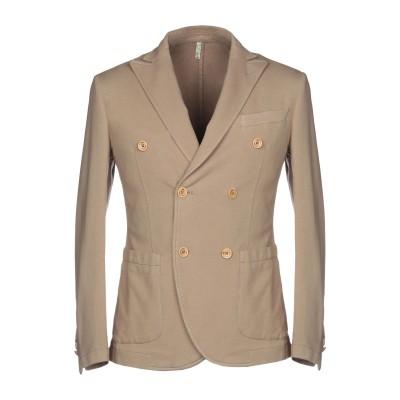 DOMENICO TAGLIENTE テーラードジャケット ベージュ 48 コットン 94% / ポリウレタン 6% テーラードジャケット