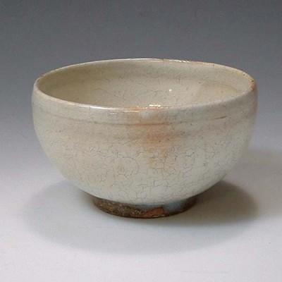 清水焼 京焼 お茶呑茶碗 湯呑み 本粉引(ほんこびき) 京都の高級 手作り 和食器 湯飲み茶碗  お茶飲み茶碗 来客用に