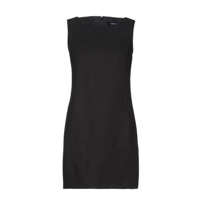 ディースクエアード DSQUARED2 ミニワンピース&ドレス ブラック 38 レーヨン 100% ミニワンピース&ドレス