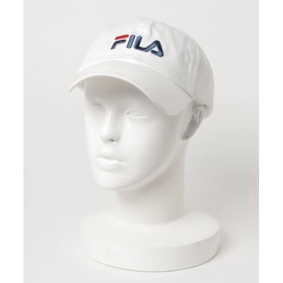 JEANS MATE / 【FILA/フィラ】ロゴローキャップ ブランドロゴ 刺繍 WOMEN 帽子 > キャップ