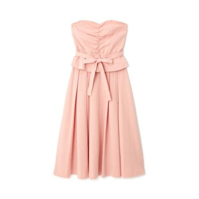 【プロポーション ボディドレッシング】 《EDIT COLOGNE》リボンディティールセットアップ レディース ピンク FR PROPORTION BODY DRESSING