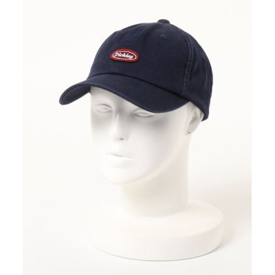 LB/S / 【DICKIES/ディッキーズ】ワッペンローキャップ ワンポイントロゴワッペン MEN 帽子 > キャップ
