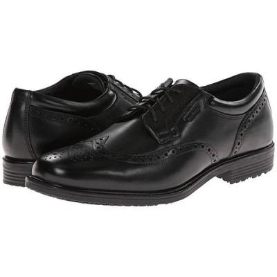 ロックポート LTP Wing Tip メンズ オックスフォード Black WP Leather