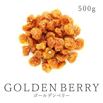 純粋 ドライゴールデンベリー 500g 農薬不使用 ドライフルーツ インカベリー 食用ほおずき 砂糖不使用 無添加