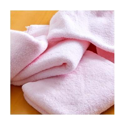 ふわっふわの無撚糸フェイスタオル同色4枚セット フェイスタオル, Towels(ニッセン、nissen)