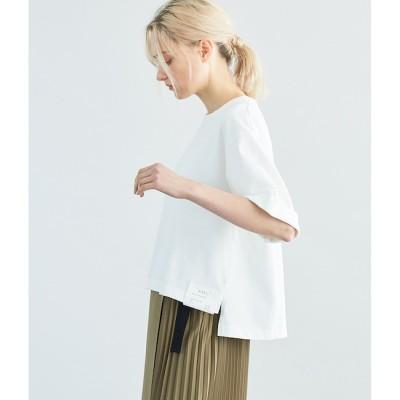 【シプリ/SIPULI】 MVS太番手コットン天竺 ロールアップTシャツ
