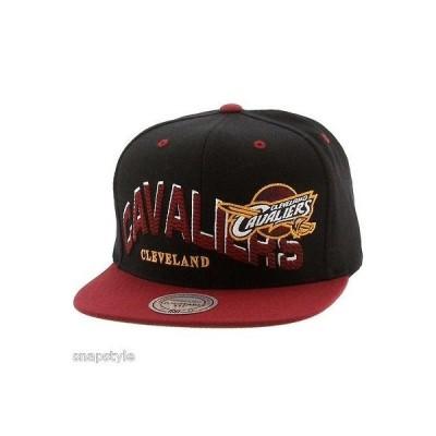 帽子 ハット キャップ ミッチェル&ネス Mitchell & Ness NBA Cleveland Cavaliers Wave スナップバック