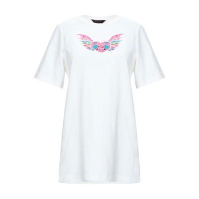 MANISH ARORA T シャツ ホワイト 40 コットン 95% / ポリウレタン 5% T シャツ