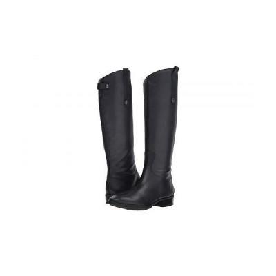 Sam Edelman サムエデルマン レディース 女性用 シューズ 靴 ブーツ ロングブーツ Penny Leather Riding Boot - Inky Navy Basto Crust Tumbled Leather