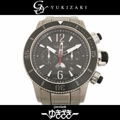 ジャガー・ルクルト JAEGER LE COULTRE マスター コンプレッサー Q178T170 ブラック文字盤 中古 腕時計 メンズ