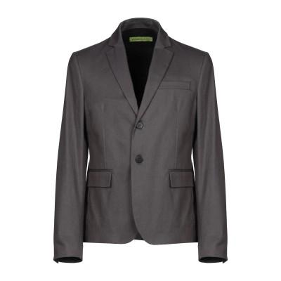 VERSACE JEANS テーラードジャケット グレー 50 コットン 98% / ポリウレタン 2% テーラードジャケット