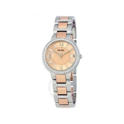 Fossil/フォッシル レディース 腕時計 Virginia Rose Dial Teo-tone レディース Watch ES3405