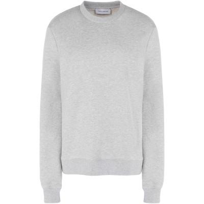 NINETY PERCENT スウェットシャツ ライトグレー L オーガニックコットン 100% スウェットシャツ