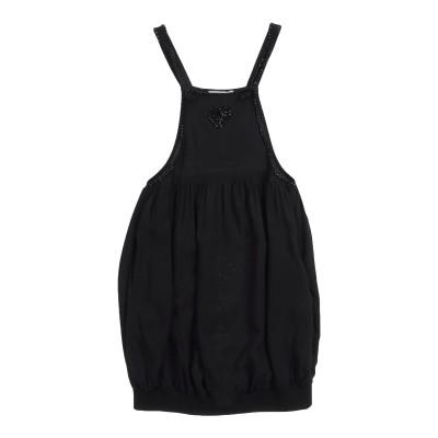 ツインセット シモーナ バルビエリ TWINSET ジャンパースカート ブラック 6 レーヨン 100% ジャンパースカート