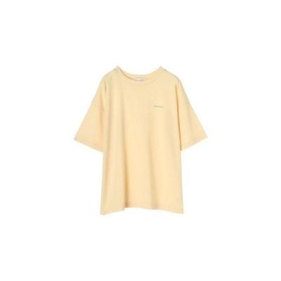 グリーンパークス Green Parks プリントロゴTシャツ (Yellow)
