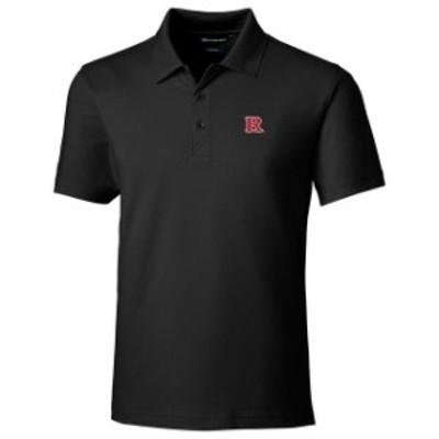 Cutter & Buck カッター アンド バック スポーツ用品  Cutter & Buck Rutgers Scarlet Knights Black Forge Tailored Fi