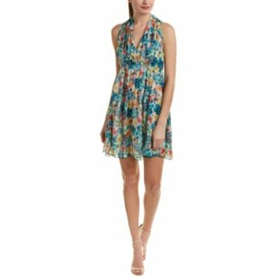 Shift  ファッション ドレス Molly Bracken Pleated Shift Dress S