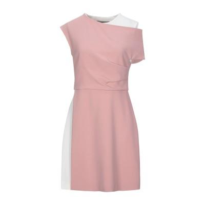 SPORTMAX ミニワンピース&ドレス ピンク 40 トリアセテート 70% / ポリエステル 30% / ポリウレタン ミニワンピース&ドレス