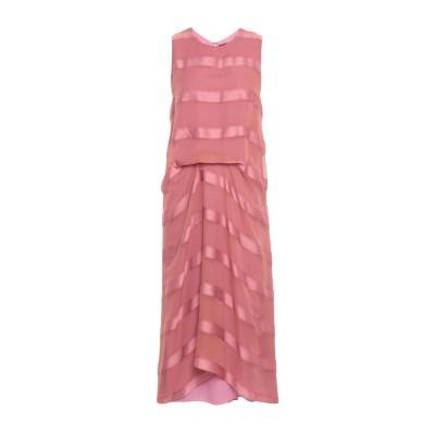 シエス・マルジャン SIES MARJAN 7分丈ワンピース・ドレス パステルピンク 4 シルク 100% 7分丈ワンピース・ドレス